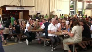 Beer Tent at Lucerne Fest 2012
