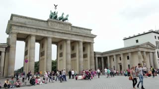 Berlin Germany at Brandenburg Gate
