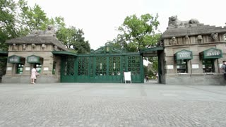 Berlin Zoo Entrance Germany