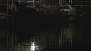 Boats in Dock at Night 720p