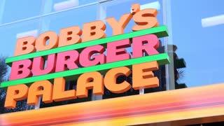 Bobbys burger palace in Las Vegas 4k