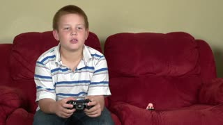 Boy puts on disguise to play online video games