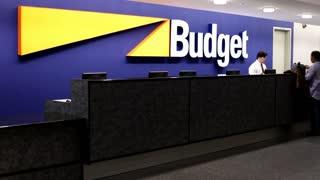 Budget car rental service at atlanta airport