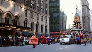 Build a Bear float in Macy's parade