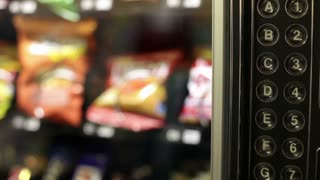 Buying item from vending machine