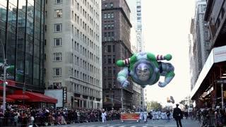 Buzz Lightyear in Macy's Parade