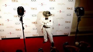 Cab Calloway at charity poker event