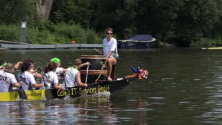 Calwa IT services in Drache rowing competition Offenbach Germany 4k