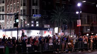 Canal street during Hermes parade