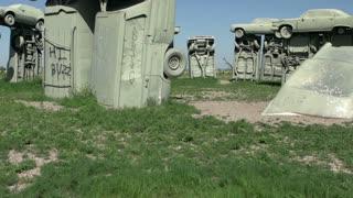 Carhendge monument in Nebraska