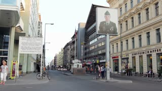 Checkpoint Charlie American Sector Entrance
