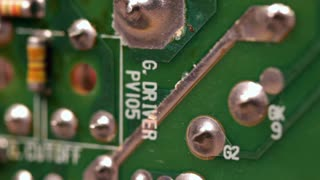 Circuit Board with small solder points