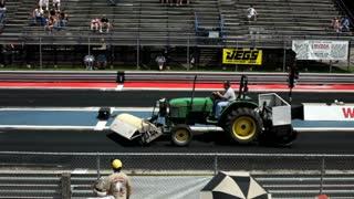 Cleanup crew at kilkare raceway