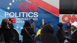 CNN politics Bus at inauguration