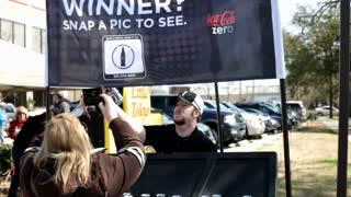 Coca Cola Zero Promotion at endymion parade
