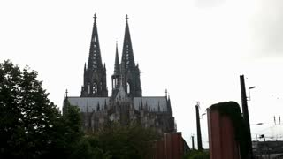 Cologne cathedral exterior in Germany