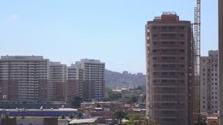 Construction in Rio de Janeiro downtown of city 4k