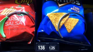 Cool Ranch Doritos purchased from vending machine