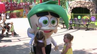 Cosmo at Amusement Park