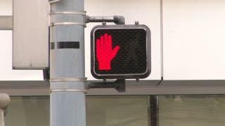 Crosswalk Signal in City