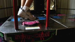 Dance Dance Revolution played at arcade