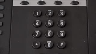 Dialing 911 on office phone 4k