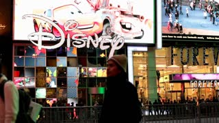 Disney Store front in New York City