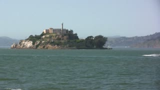 Distant View of Alcatraz