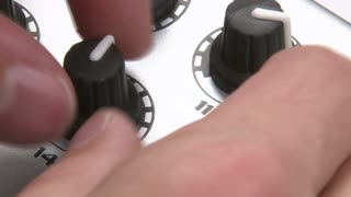 DJ Adjusting Knobs