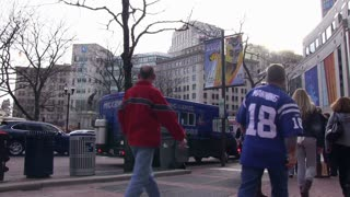 Downtown Indianapolis Super Bowl XLVI Weekend
