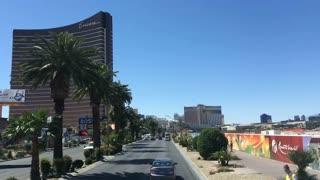 Driving down Las Vegas Boulevard timelapse 720p