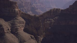 Eagle point at West Rim of Grand Canyon static shot 4k