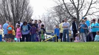 Easter egg hunt in Fairborn Ohio 4k