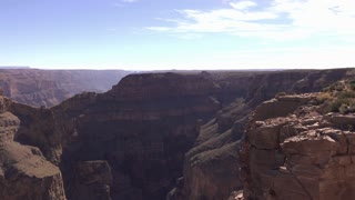Edge of Grand Canyon pan to Eagle Point 4k