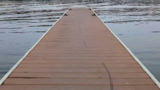 Empty Dock in Water