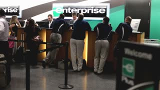 Enterprise car rental at Atlanta airport