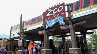 Entrance to Columbus Zoo and Aquarium 4k