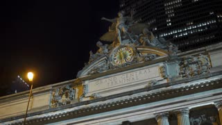 Entrance to Grand Central Terminal on 42nd Street New York City 4k