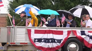 Fairborn Masonic group in Ohio 4th of July parade 4k