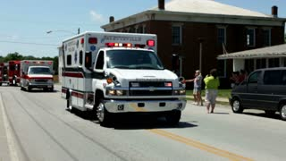 Fayetteville Ambulance in Parade