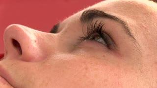 Female Eye looking up
