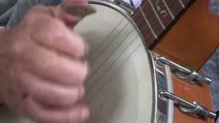 Fingers Picking Banjo