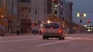 Firetruck in Downtown Dayton