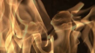 Flames Close Up