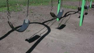 Four Swings in Park