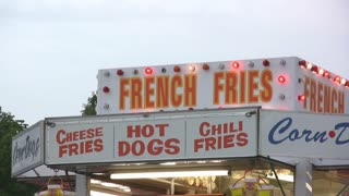 French Fry House Food vendor at a concert event