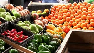 Fresh fruit at market