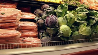 Fresh Produce at Grocery