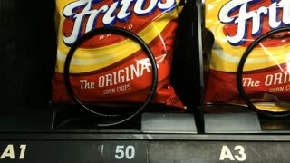 Frito Lay Original chips purchased from vending machine