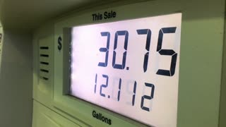 Gas sale numbers increasing at pump